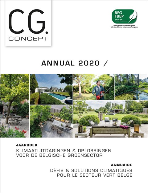 annual 2020 climate change challenges solutions garden architecture flowers green horticultural sector public spaces green spaces CG Concept