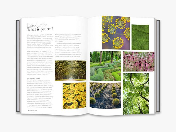 The Gardener's Book of Patterns new book bookshop shop webshop buy online free shipping garden books garden architecture Jack wallington Roayl Horticultural Society create mood in the garden design style inspiration patterns naturel designs CG Concept magazine blog landscape exterior design