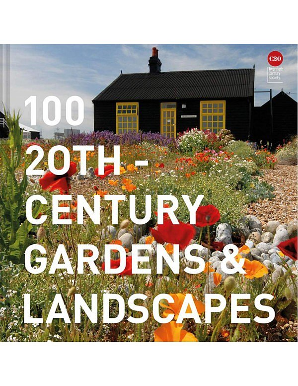 100 20th-Century Gardens and Landscapes a showcase of Britain's most extraordinary gardens and landscapes from the 21st century evolution garden and landscape architecture exterior design designed landscape creations piet oudolf photography ilustrations inspirational book new in the bookshop webshop gift idea garden lovers Elain Harwood gardeners history of gardens planting styles modern landscapes cg concept blog magazine belgium