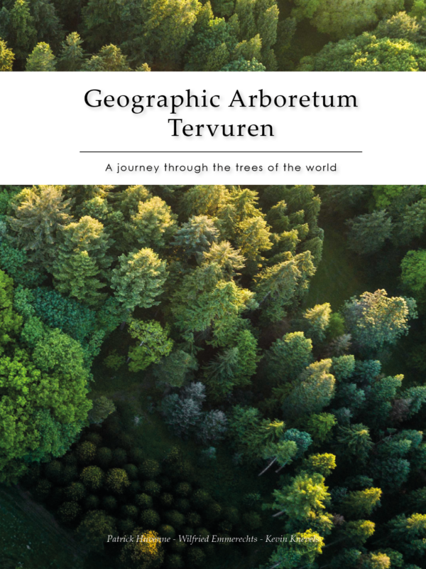 Geographic Arboretum Tervuren book cg concept magazine garden architects gardeners books nature trees gardens in belgium
